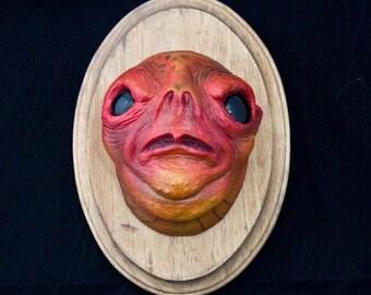 Wall mounted Head of a Pygmy Blood Troll