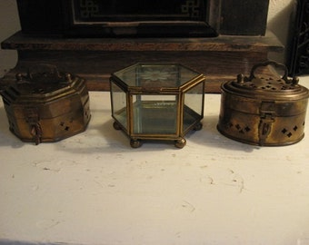 Three Trinket Boxes