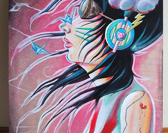 Japanese Dream (Japream)-16 x 20 Original Painting