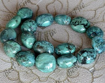 15inch 20x25mm Natural old Turquoise nugget loose beads,turquoise nugget gemstone beads,turquoise nugget beads