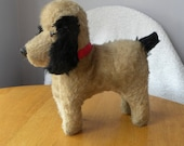 Chiltern Dog with Moving Ears  - Chad Valley Dog - 1940's Mohair Terrier Dog