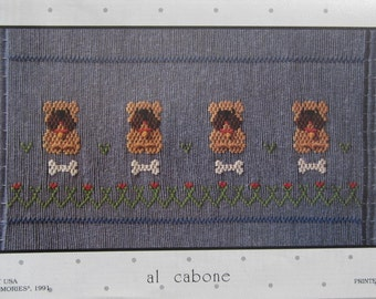 Smocking Plate - Al Cabone by Little Memories (book 5)