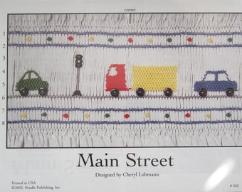 Smocking Plate - Main Street #502 by Creative Needle - Cheryl Lohmann (book 5)