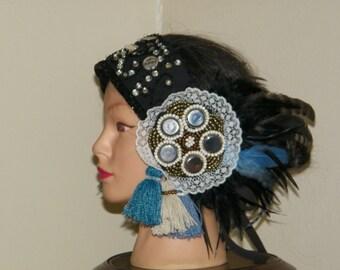 BEAUTIFUL Exotic Tribal Fusion Headdress SALE