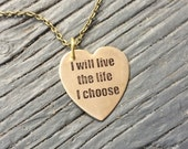 I will live the life I choose Lost Girl