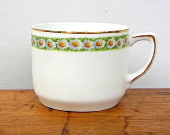 Antique Zeh Scherzer Porcelain Daisy Cup Germany