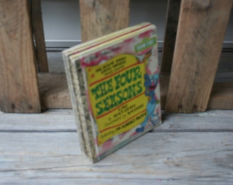 Set of Six Vintage Sesame Street Little Golden Books - Instant Collection - Children's Books