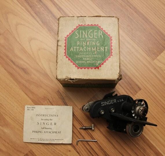 singer pinking machine