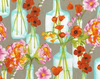 Posie Bouquet in Bloom (cj6662) - VIGNETTE by Laura Gunn - Michael Miller Fabrics - By the Yard
