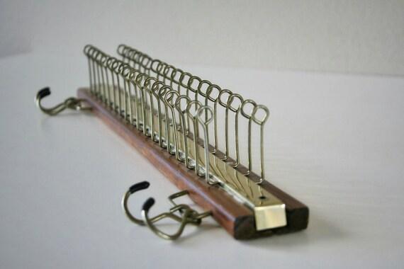 Vintage Necktie Rack Closet Organizer Belt Scarf Jewelry