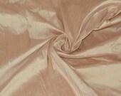 Silk Dupioni in Tea Rose - Fat Quarter -D 293