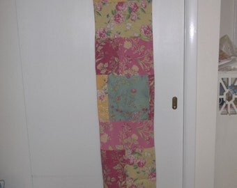 Cotton Quilted Table Runner Boho Chic