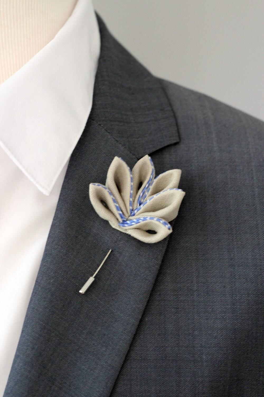 Maple Leaf Lapel Pin Mens Lapel Flower Boutonniere Lapel