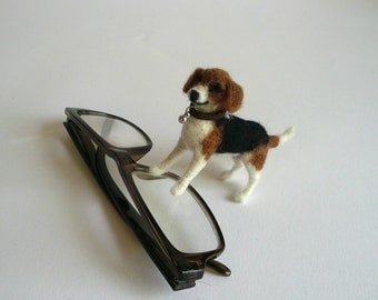 Needlefelted dog's miniature 1:12 scale/Dog miniatures/ Dollhouse miniatures/ OOAK/Custom Miniature Sculpture of your dog - pet