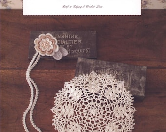 Motif and Edging of Crochet Lace - Japanese eBook Pattern - Instant Download PDF