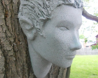 elf head tree sculpture