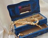 Jewelry Box  Shabby Chic Paris Chic Boho Gypsy