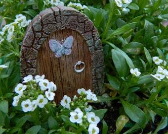 Fairy Garden Door Small Fairy Garden Miniatures Accessories Fairy Door Miniature Door