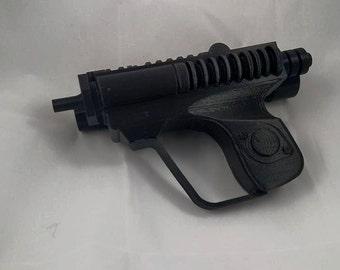 3D printed biker scout trooper blaster pistol - snaps together!