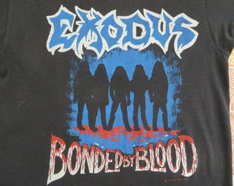 EXODUS 1985 tour T SHIRT