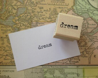 dream - wood mounted rubber stamp by Mary C. Nasser for RubberMoon MN3AA