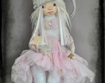 "Ooak articulated Art Doll by Lightleaf Studio - Dreamy Honami @ ""A teatime in Tokyo"""