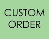ordine personalizzato per KATE