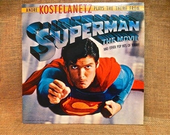 SUPERMAN The Movie and other pop hits of today - 1979 Vintage Vinyl Record Album