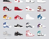 Basketball Sneakers of the 1980s