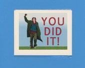 BREAKFAST CLUB CONGRATS - John Hughes - John Bender - Ally Sheedy - Emilio Estevez - Anthony Michael Hall - Molly Ringwald - Judd Nelson