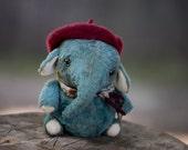 "Elephant ""Jeraldo"" OOAK 6.2 inches"