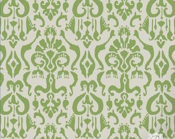 Boho Chic Ikat Pattern Craft Stencil - Paint Fabric, Furniture, Scrapbook with Custom Design