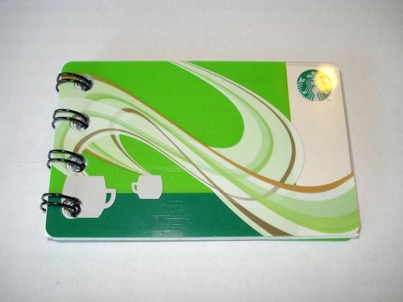 Upcycled Starbucks Notebook