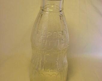 c1930s Bireleys Hollywood, California , Quart Embossed Milk Bottle No. 2
