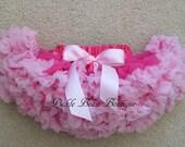 Pink Pettiskirt, 3-4 years, Ready To Ship, Birthday Tutu, Hot Pink Tutu, Petti Skirt Toddler, Girls 2nd Birthday Outfit, 3rd, Third, 4th