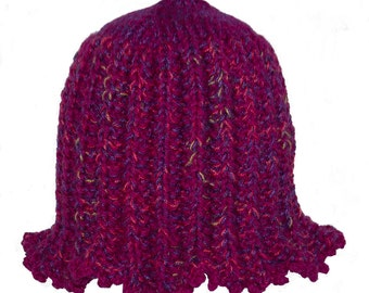 Snuggly Tulip in Red Violet