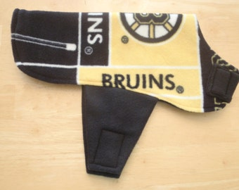 Boston Bruins Dog Coat