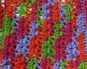 Crocheted Miniature Dollhouse Blanket Jelly Bean