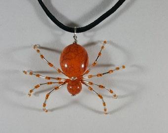 Orange Loving Spider