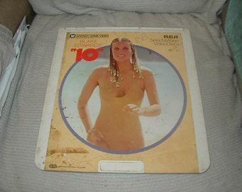 "Laser Disc, ""10"", Bo Derek, Dudly Moore CED"