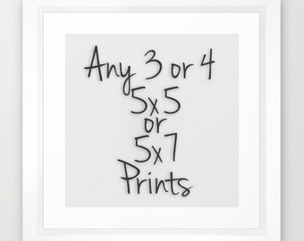 SAVE 30% On Any 3 or 4 Prints. Selected Sizes.