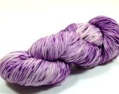 Hand Dyed Yarn - Sock Yarn - Fingering Yarn - Superwash Merino / Nylon - Purple Punch
