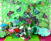 Monarch Butterflies Party Package, Butterfly Birthday Party, Butterfly party decoration, Monarch butterflies Party, Printable | PERSONALIZED