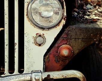 Jeep Print or Canvas Wrap, Jeep Art, Jeep Decor, Vintage Jeep, Picture of Jeep Willys, WWII Jeep Photograph, Masculine Office Decor.
