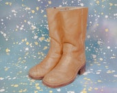 1970's Hippie Style Boots Men's Size 7 .5