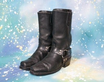 MOTORCYCLE Boots Men's Size 8 .5 M