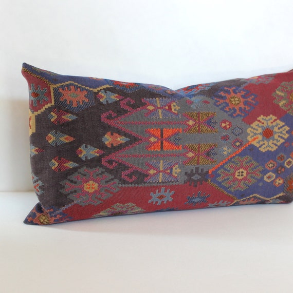 Modern Southwest Pillow : Lumbar Pillow Cover Southwest Upholstery Fabric Decorative