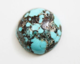 Rare Natural Persian Turquoise 12mm