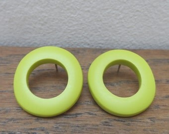 Wobble hoops - lime