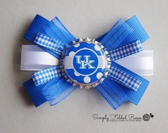 UK inspired loopy bow - 3""